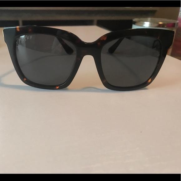 050fb30e12 Diff Eyewear Accessories - DIFF Bella Tortoise Gray Polarized Sunglasses